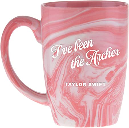 Official Taylor Swift I Ve Been The Prey I Ve Been The Archer Marble Colored Coffee Mug Amazon Co Uk Kitchen Home