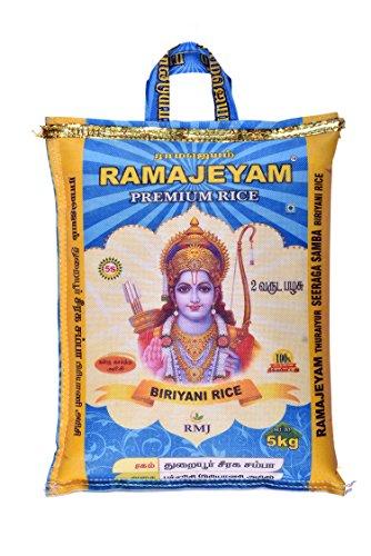 RAMAJEYAM Premium Rice 5Kg Seeraga Samba Briyani Rice