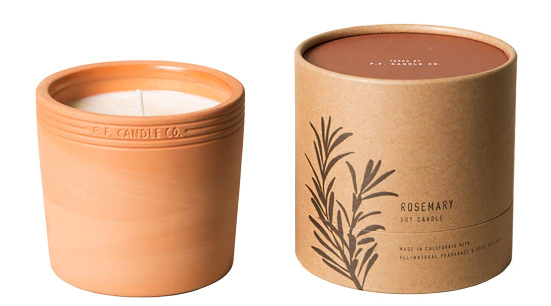 PF Candle Co, Candle Terra Rosemary 17.5 Ounce