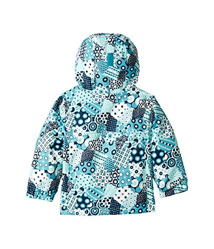 Columbia Kids Baby Girl's Magic Mile Jacket (Toddler) Pacific Rim Patchwork Print/Collegiate Navy 2T Toddler by Columbia (Image #3)