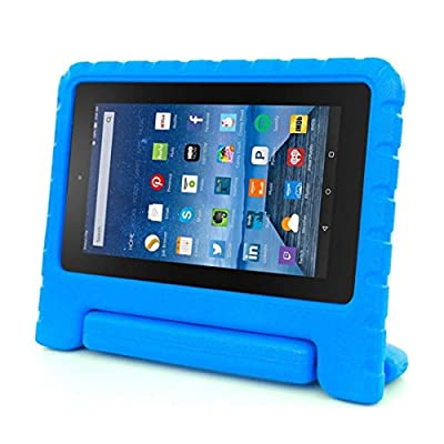 """For 2015 Amazon Kindle Fire HD 7"""" Tablet TOOPOOT Kids Shock Proof EVA Handle Case Cover for Kindle Fire HD 7"""" 2015 by TOOPOOT"""