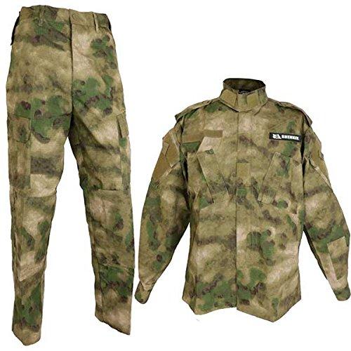 A-TACS FG Real Farbe BDU Tarnung Kampfuniform obere und untere Reihe Wald Tarnung (Ordner Ridge Grn) XS (Japan-Import)