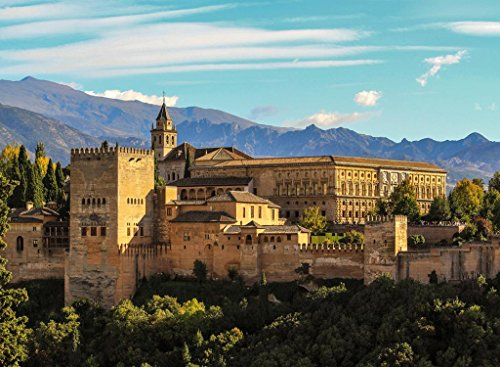 Granada Spain Poster Wall Art Living Room Bedroom Elegant Travel Home Decor Gift Made