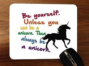 Always Be A Unicorn Desktop Mouse Pad