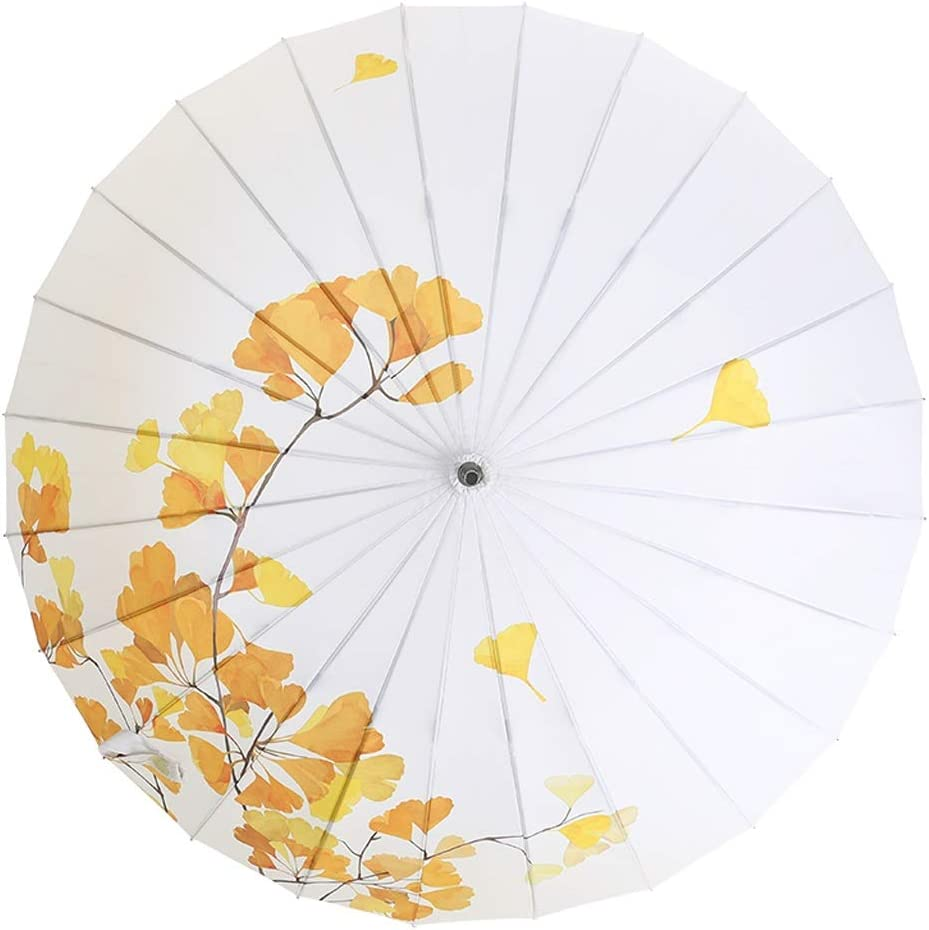 RXY-UMBRELLA Fully Automatic One-Button Self-Opening Umbrella Folding Sunshade Sun Protection UV Umbrella Color : A