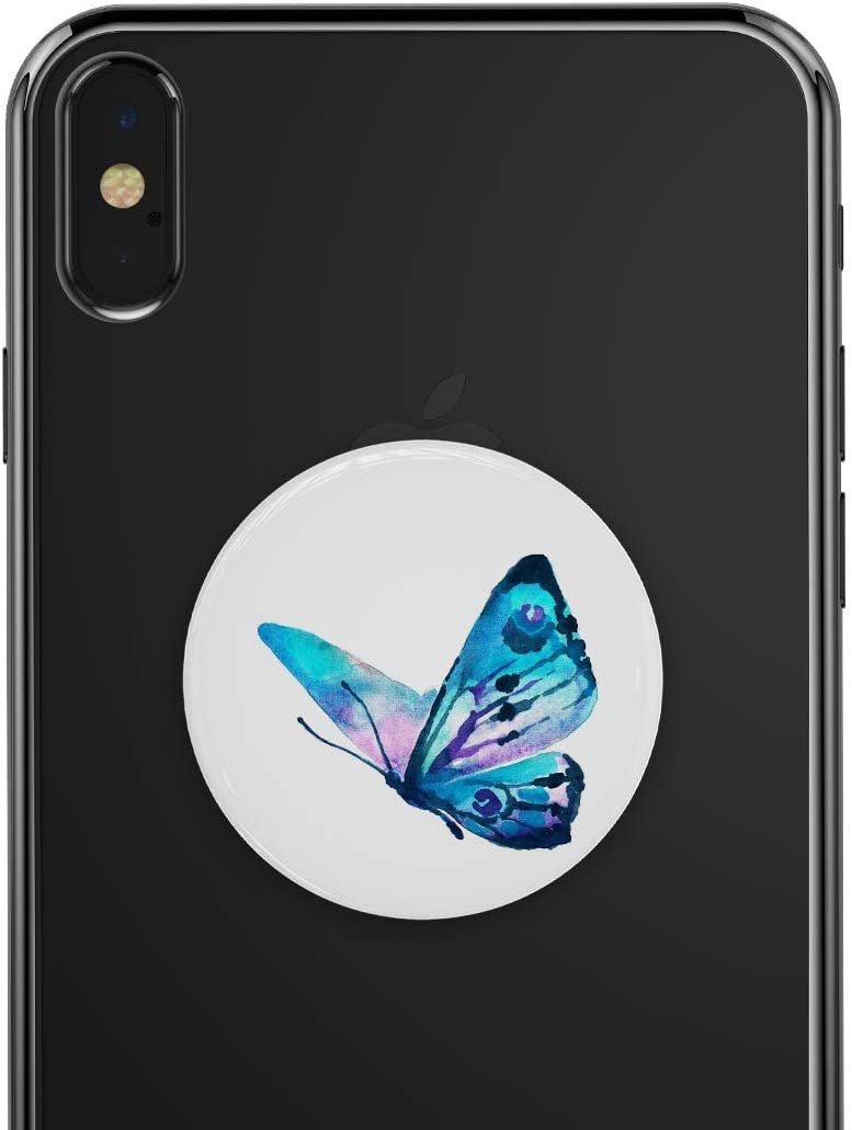 Bright Graceful Butterfly DesignSkinz Premium Decal Sticker Skin-Kit for PopSockets Smartphone Extendable Grip /& Stand