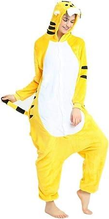 FZH Pijama Oso marrón Kigurumi Animal Onsie Disfraz de Mujer ...