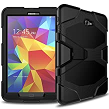 Galaxy Tab A 10.1 SM-T580 Case, Shockproof dust-proof hard armor Heavy Duty design with Kickstand Protective Case For Samsung Galaxy Tab A 10.1'' (SM-T580 / SM-T585) (2016 Release) Black