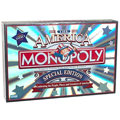 Parker Brothers Monopoly ~ the America ~ Special Edition: Toys & Games