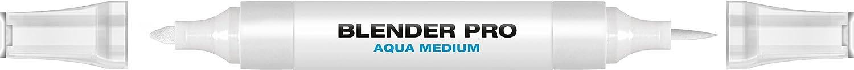 Molotow Aqua Twin Marker Blender Pro, Brush and Chisel Nib, 1 Each (729.099)