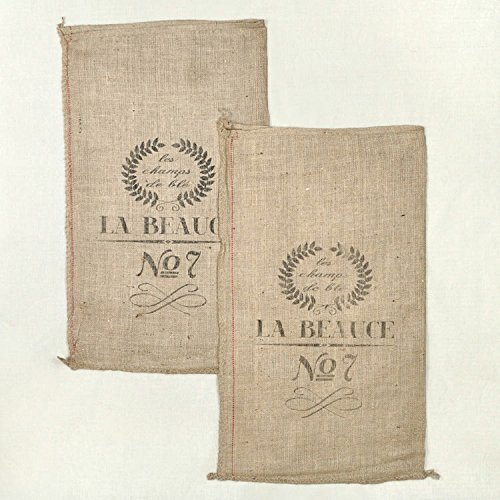Flour Sack Fabric (French Grain Sack Reproduction - Sold Individually)