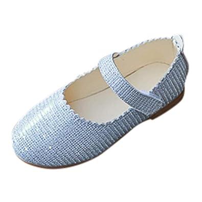 32d0c64b594b8 ELECTRI Chaussures Enfant Bébé Fille Princesse Chaussures Sequin Chaussures  Filles Bowknot Sandales Paillettes Sneaker Toddler Enfants