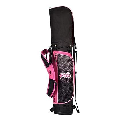 ff692ca1dde7 Amazon.com : PGM Junior Golf Stand Bag ---Environmental PU Golf ...