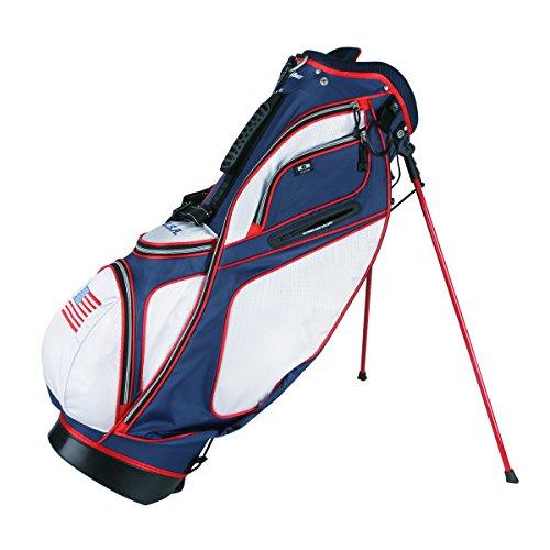 PowerBilt TPS Dunes USA Flag Stand Golf Bag