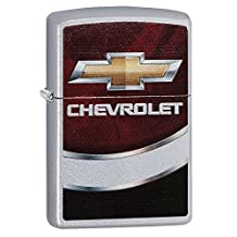Chevy Chevrolet Zippo Outdoor Indoor Windproof Lighter Free Custom Personalized Engraved Message Permanent Lifetime Engraving on Backside