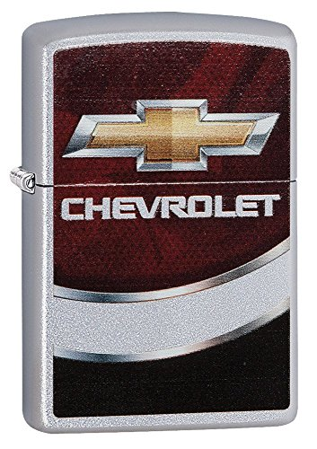 Chevy Style3 Zippo Outdoor Indoor Windproof Lighter Free Custom Personalized Engraved Message Engraving on Backside (Style7) by Zippo