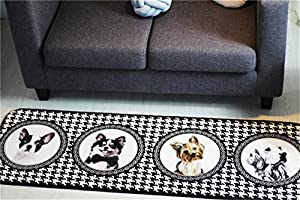 INCX No-Slip Runner Rug Kitchen rugs and mats for Floor for Kids Room