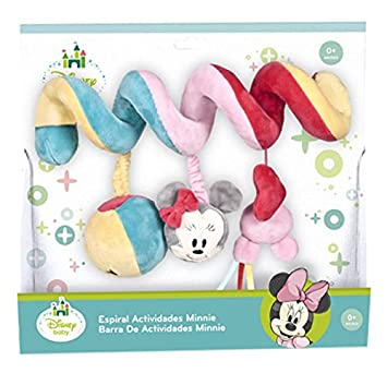 Disney Baby- Famosa Softies - Espiral de Actividades Minnie (760013850) (