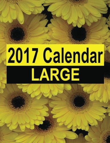 2017 Calendar Large: The 14 month 2017 Calendar Large starts in December 2016 and ends January 2018. Organize activities and important dates in large boxes to write in and a note page for each month. PDF