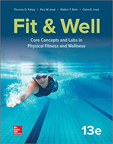 fitness and wellness 10th edition quiz answers