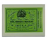 Wm. Smith & Son 25-pk of #16 Sailmakers' Needles