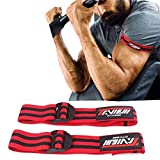 TAVIEW Flexible BFR Occlusion Bands | Blood Flow Restriction Training,2 Pack, Arm Wraps for Fast Biceps Arm Muscle Growth Without Lifting Heavy Weights