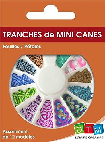 MINI CANES FEUILLES/PETALES DTM