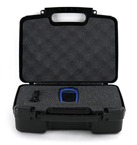 Imager Handheld Thermal (Hard Storage Carrying Case For Seek Reveal All In One Handheld Thermal Imager with Flashlight - Stores Handheld Thermal Imagers Safely In Protective Foam- Black)
