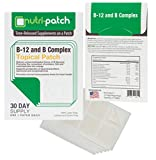 B-12 and B Complex Topical Nutrient Skin Patch from Nutri-Patch