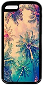 Nature Coconut Tree Sky Apple iPhone 5C Case, iPhone 5C Cases Hard Shell Cover Skin Cases