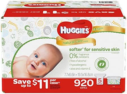 Branded Huggies Natural Unscented Whoesale