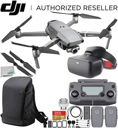 DJI Mavic 2 Zoom Drone Quadcopter with 24-48mm Optical Zoom Camera with DJI Goggles Racing Edition & DJI Carry More Backpack Essential Bundle Review