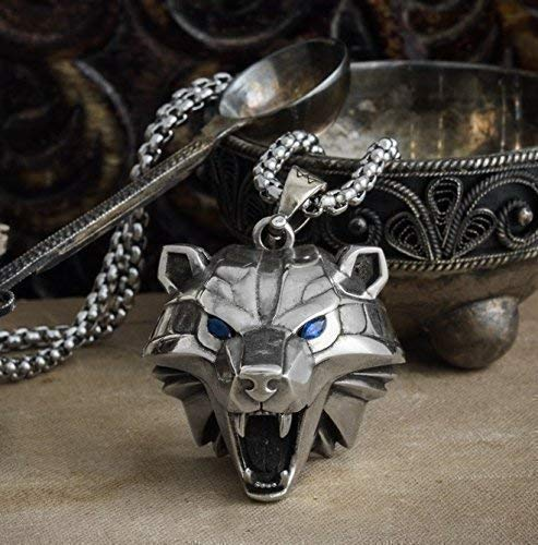 Handmade Bear head medallion, school of the bear, monster hunter, cosplay medallion, polar bear, grizzly high quality ! ()