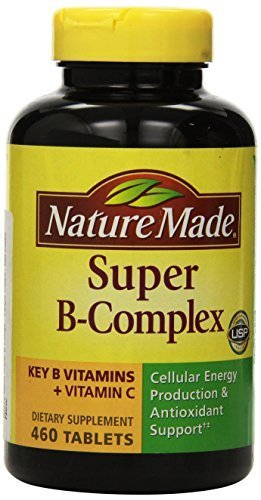 Nature Made Super B Complex Tablets , New Larger Count , 460 Count by Nature Made