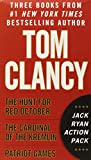 Tom Clancy's Jack Ryan Action Pack: The Hunt for Red October/The Cardinal of the Kremlin/Patriot Games by Tom Clancy (6-Nov-2013) Mass Market Paperback