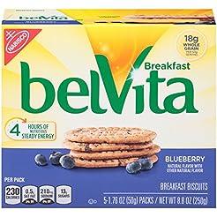 belVita Breakfast Biscuits, Blueberry Fl...