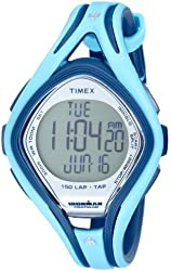 Timex Mid-Size T5K288 Ironman Sleek 150-Lap TapScreen Watch