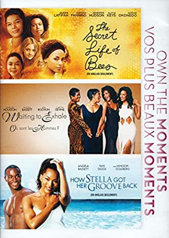 The Secret Life of Bees / Waiting to Exhale / How Stella Got Her Groove Back (Own The Moments Triple (Secret Life Of Bees Dvd)