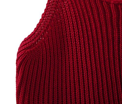Di Rosso Della Parte Raccolto Bretella Donne Canotta Mooncolour Superiore Della Maglia Maglia Colore Puro qvW7x6p
