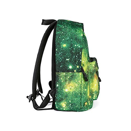 Canvas Backpack, Businda Cute Backpacks School Bookbags Printing Zipper Backpacks Fashion School Bags Casual Canvas Laptop Protective Rucksack for Kids Adults Boys Girls by Businda (Image #2)