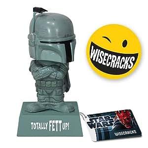 "Boba Fett: ""Totally Fett Up!"" - Star Wars - Wacky Wisecracks Bobble-Head"