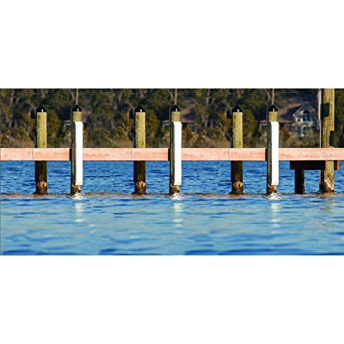 (Dockmate Piling Post Bumper White)