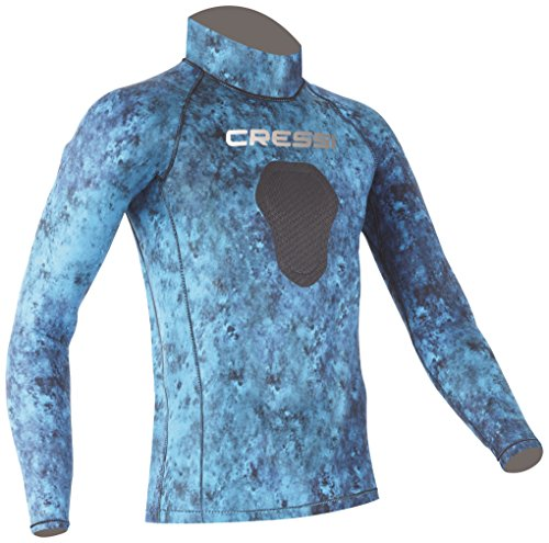 Hunter Rash Guard - Camo Blue