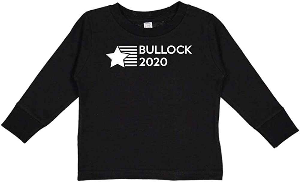 Star//Stripes Mashed Clothing Bullock 2020 Presidential Election 2020 Toddler//Kids Long Sleeve T-Shirt