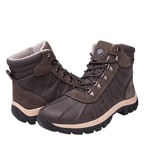GlobalWin - 16303 Snow Boots 8.5 M US Grey