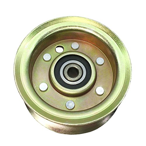 Parts Camp Replacement Deck Idler Pulley 532173438 For Husqvarna/Poulan/AYP/Craftsman 173438, 131494, 104360X, 532 17 34-38, 532 13 14-94, AM37321, AM103480 ()
