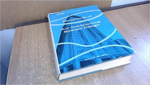 Handbook Of Air Conditioning System Design Carrier Air Conditioning Company 9780070100909 Amazon Com Books