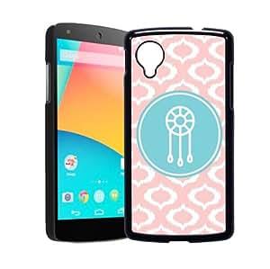 Dream Catcher Baby Pink Ikat Cute Hipster Google Nexus 5 Case - Fits Nexus 5