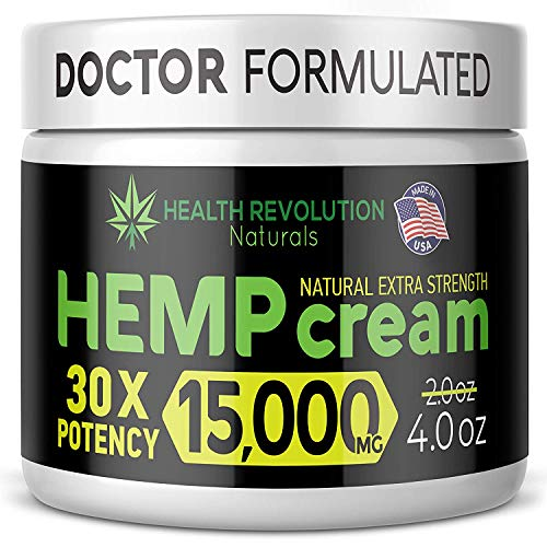51TNZzMy2WL - Extra Strength Hemp Cream for Pain Relief - Only 3rd Party Tested Product To Verify Strength/Results. All Natural for Nerve-Sciatic, Muscle, Back Pain & Inflammation, with Arnica, MSM, Emu, Turmeric
