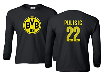 529cd95edcf1d Amazon.com : Spark Apparel Soccer Jersey Style Shirt #22 Pulisic ...